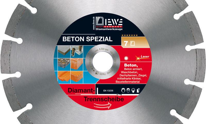 Diamanttrennscheibe Beton Spezial