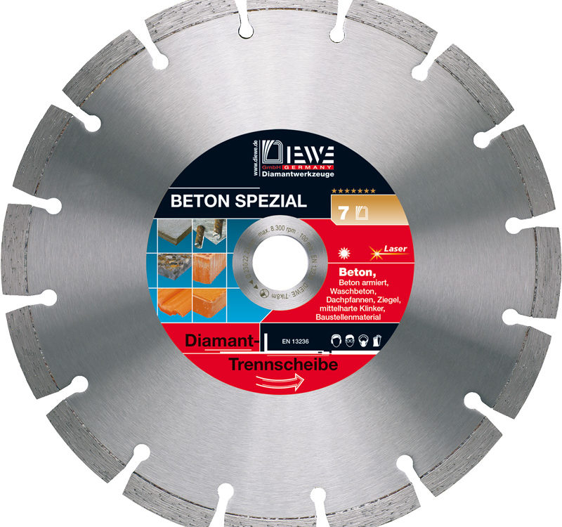 Diamond cutting blade Beton Spezial
