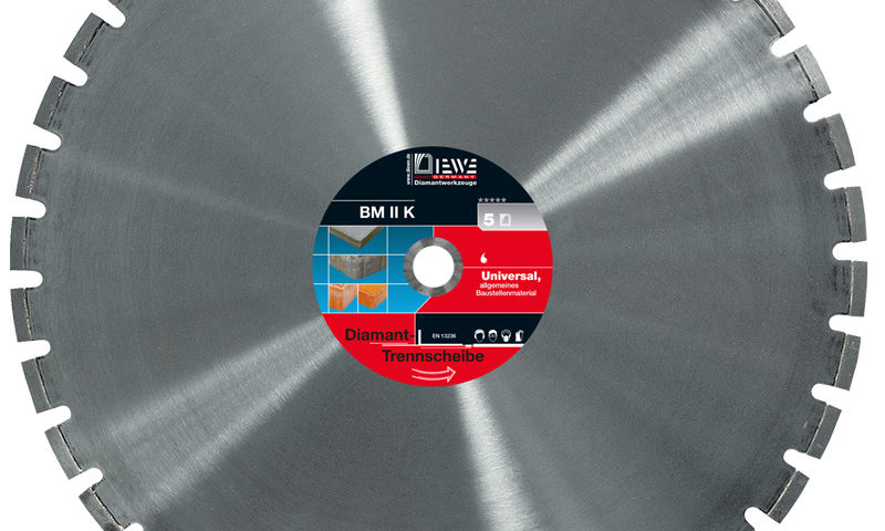 Diamond cutting blade BM II K