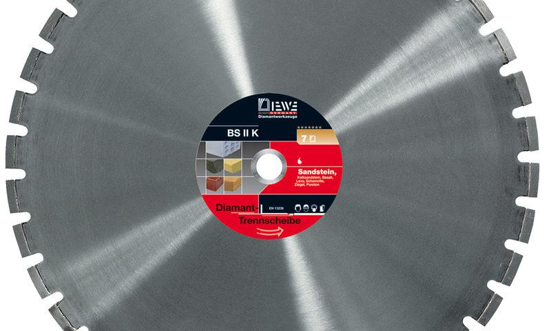 Diamanttrennscheibe BS II K
