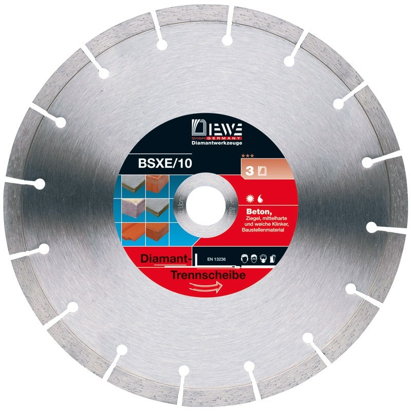 Diamond cutting disc BSXE/10