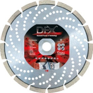 Diamond cutting disc DFX
