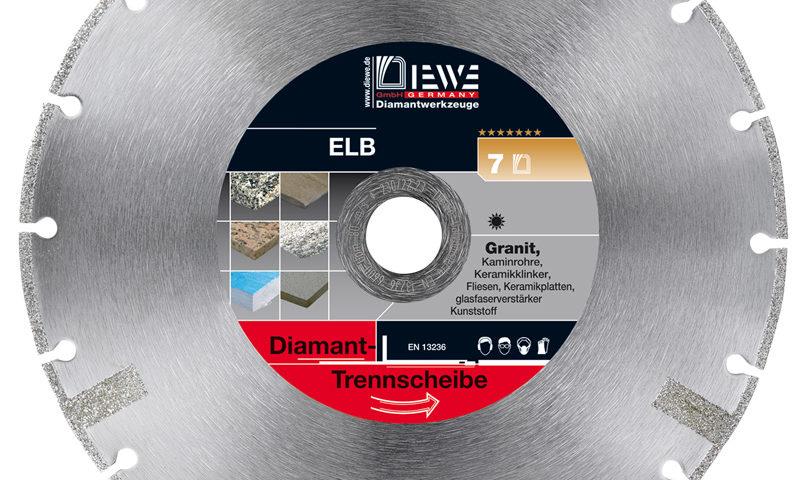Diamanttrennscheibe ELB