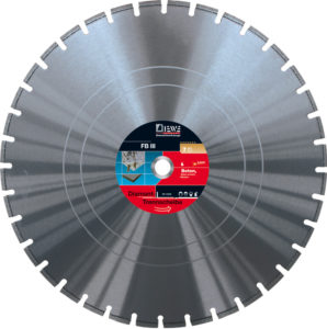 Diamond cutting disc FB III