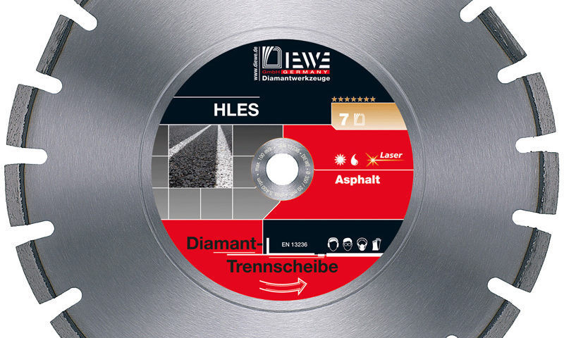 Diamanttrennscheibe HLES
