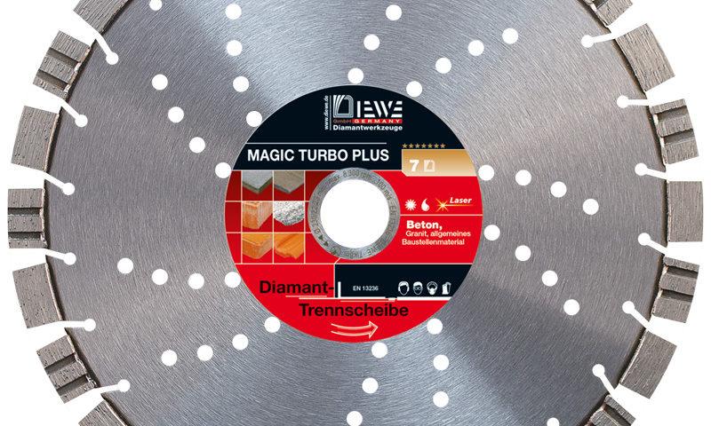 Diamanttrennscheibe Magic Turbo Plus