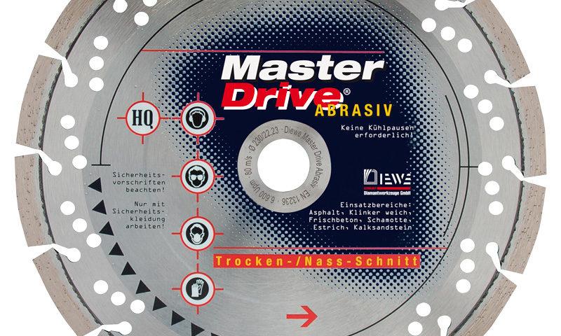 Diamanttrennscheibe Master Drive Abrasiv