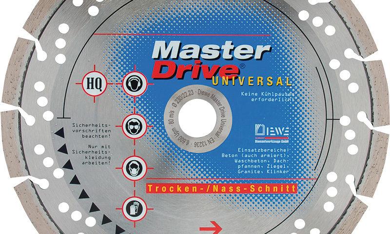 Diamanttrennscheibe Master Drive Universal