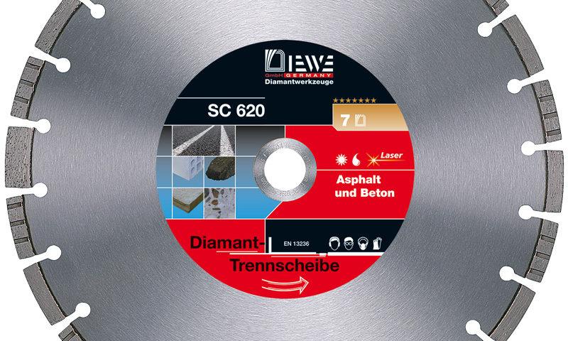 Diamanttrennscheibe SC 620
